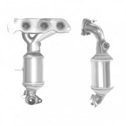 Catalyseur pour OPEL AGILA 1.0 Mk.2 12v Collecteur (moteur : K10B - N° de chassis jusquà BM999999)