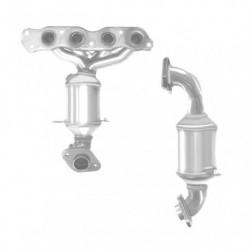 Catalyseur pour OPEL AGILA 1.2 Mk 2 (moteur : K12B - N° de chassis jusquà AM999999)