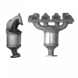 Catalyseur pour OPEL ASTRA 1.4 Mk.4 16v Collecteur (moteur : Z14XE)