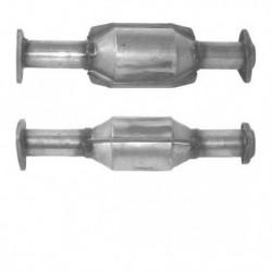 Catalyseur pour OPEL ASTRA 1.7 Mk.3 Turbo Diesel (moteur : X17DT)