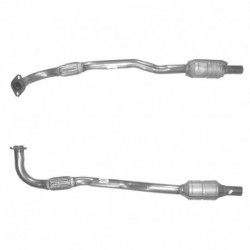 Catalyseur pour OPEL ASTRA 1.7 Mk.4 DTi Turbo Diesel (moteur : Y17DT)