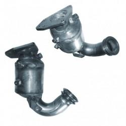 Catalyseur pour FIAT UNO 1.1  60 ie (tuyau avant, catalyseur et tuyau de connexiet suivants)
