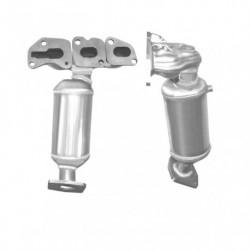 Catalyseur pour OPEL CORSA 1.0 Mk.3 12v (moteur : A10XEP)