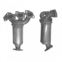 Catalyseur pour OPEL CORSA 1.0 12v Collecteur (moteur : A10XEP - Z10XEP - Euro 4)