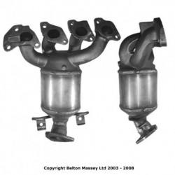 Catalyseur pour FORD PUMA 1.4 16v ZH14 (catalyseur situé coté moteur)