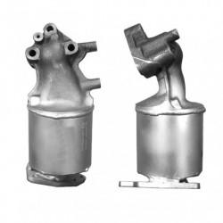 Catalyseur pour HYUNDAI ACCENT 1.3  catalyseur situé sous le véhicule