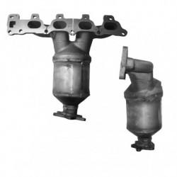 Catalyseur pour JAGUAR XJ8 4.0 V8 coté droit (bride coté arrière)