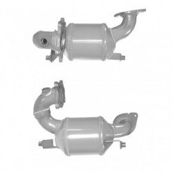Catalyseur pour OPEL MOVANO 2.5 dCi (moteur : G9U - 1 er catalyseur - pour véhicules avec FAP)