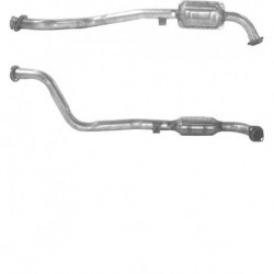 Catalyseur pour OPEL OMEGA 2.5 Turbo Diesel