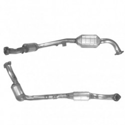 Catalyseur pour OPEL OMEGA 2.6 V6 (moteur : Y26SE) Coté droit