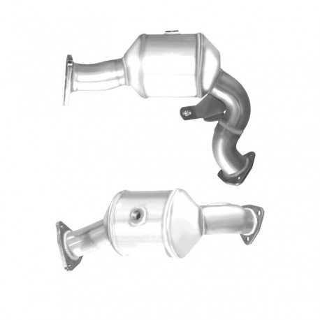 Catalyseur pour FORD TRANSIT CONNECT 1.8 TD Turbo Diesel (RWPA)