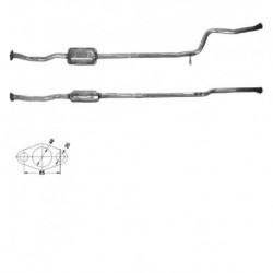 Catalyseur pour PEUGEOT 106 1.5 Diesel (moteur : TUD5 - N° de chassis RP08421 et suivants)
