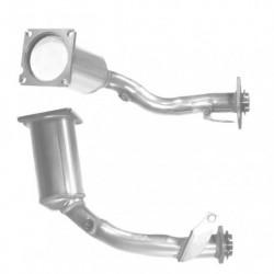 Catalyseur pour PEUGEOT 206 1.1 Catalyseur sité coté motreur