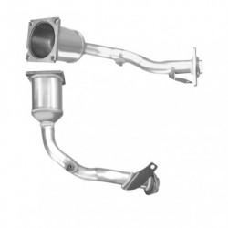 Catalyseur pour PEUGEOT 206 1.6 16v (moteur : TU5JP4)