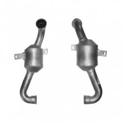 Catalyseur pour PEUGEOT 206 1.6 HDi (moteur : DV6TED4 - pour véhicules sans FAP)