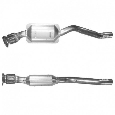 Catalyseur pour AUDI A8 2.8 V6 30v Quattro (avec OBD Coté gauche - 2ème catalyseur)
