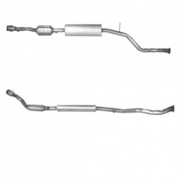Catalyseur pour PEUGEOT 206 2.0 GTi (moteur : OBD)