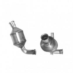 Catalyseur pour PEUGEOT 206 SW 1.4 HDi (moteur : 8HZ - DV4TD)