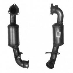 Catalyseur pour PEUGEOT 207 SW 1.6 16v Turbo (moteur : 5FX(EP6DT) - (moteur : 5FY(EP6DTS)