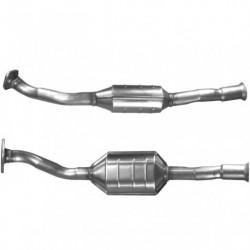 Catalyseur pour PEUGEOT 306 1.4 catalyseur situé sous le véhicule
