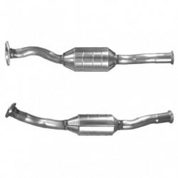 Catalyseur pour PEUGEOT 306 1.4 Sans OBD Catalyseur situé sous le véhicule