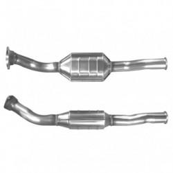 Catalyseur pour PEUGEOT 306 1.6 boite manuelle Catalyseur situé sous le véhicule