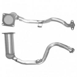 Catalyseur pour PEUGEOT 306 1.6 16v Boite manuelle (catalyseur situé coté moteur)
