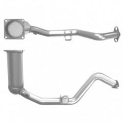 Catalyseur pour NISSAN 200SX 1.8 16v Turbo (315mm de longueur)