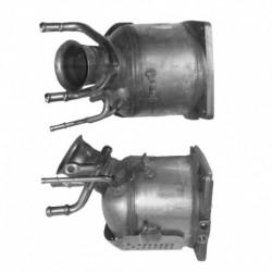 Catalyseur pour PEUGEOT 307 2.0 HDi 110cv (moteur : DW10ATED - catalyseur coté FAP)