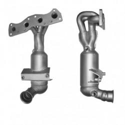 Catalyseur pour PEUGEOT 308 SW 1.4 16v Collecteur (moteur : EP3)