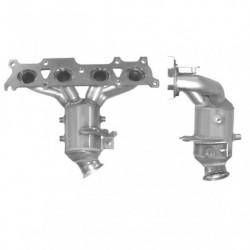 Catalyseur pour PEUGEOT 407 2.0 16v (moteur : RFJ(EW10A)