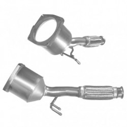 Catalyseur pour PEUGEOT 407 2.0 HDi (moteur : DW10BTED4 - non DPF - RP No. 10438 et suivants)