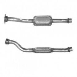 Catalyseur pour PEUGEOT 605 2.1 Turbo Diesel (moteur : XUD11)