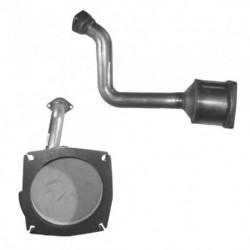 Catalyseur pour PEUGEOT 807 2.2 HDi (moteur : DW12TED4)