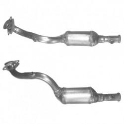 Catalyseur pour PEUGEOT 206 1.6 16v hayon (catalyseur situé coté moteur)
