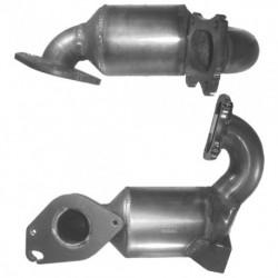 Catalyseur pour RENAULT CLIO 1.5 dCi (moteur : K9K - 55 - 65 et 80cv)
