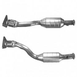 Catalyseur pour PEUGEOT 306 1.6 Boite auto (catalyseur situé sous le véhicule)