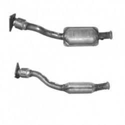 Catalyseur pour RENAULT CLIO 1.9 dTi Turbo Diesel (moteur : F9Q - tuyau flexible et catalyseur)