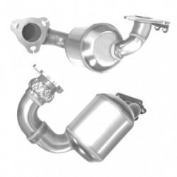 Catalyseur pour PEUGEOT 308 1.6  16v (EP6DTS - catalyseur situé coté moteur)