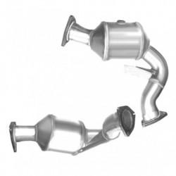 Catalyseur pour AUDI S5 3.0 TFSi (moteur : CGWC - CGXC - CHMB - CMUA - CTUB) Coté gauche
