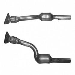 Catalyseur pour PEUGEOT 1007 1.4 8v (catalyseur situé coté moteur - TU3JP)