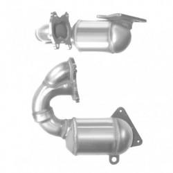Catalyseur pour RENAULT KANGOO 1.9 dTi (moteur : F9Q)