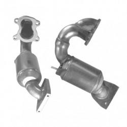 Catalyseur pour RENAULT LAGUNA 1.9 Mk.2 dCi (moteur : F9Q 100 et 110cv)