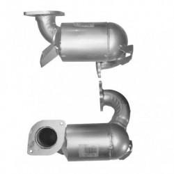 Catalyseur pour RENAULT LAGUNA 2.2 Mk.2 DCi (catalyseur situé coté moteur)