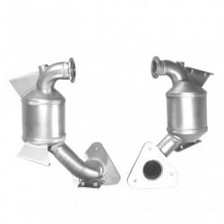 Catalyseur pour RENAULT MEGANE 1.9 dCi Turbo Diesel (moteur : F9Q - DPF et )