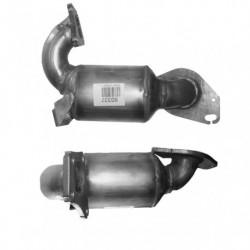 Catalyseur pour RENAULT SCENIC 1.5 Mk.2 dCi (moteur : K9K728 - 100cv)