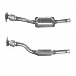 Catalyseur pour RENAULT SCENIC 1.9 dCi (moteur : - Catalyseur situé sous le véhicule)