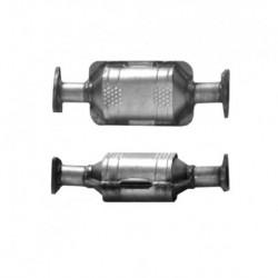 Catalyseur pour SAAB 9000 2.0 16v Catalyseur et tuyau avant sont séparés