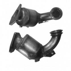 Catalyseur pour SAAB 9-3 1.9 CDTi pour véhicules sans FAP (catalyseur situé coté moteur)