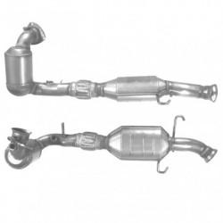Catalyseur pour SAAB 9-3 2.0 16v HOT Turbo (moteur : 205cv with pre-cat)